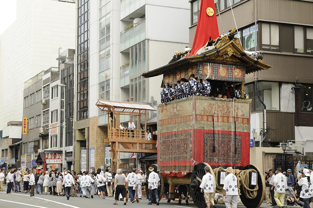 祇園祭 鉾曳初