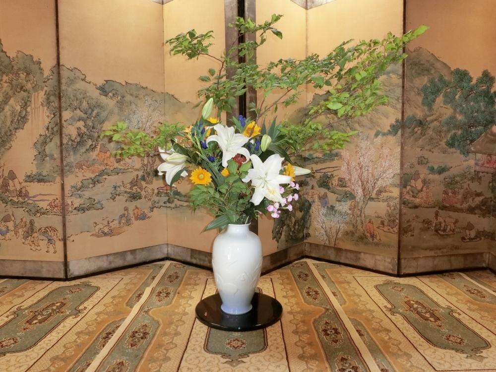 祇园祭 插花展览
