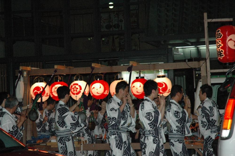 祇園祭 日和神楽