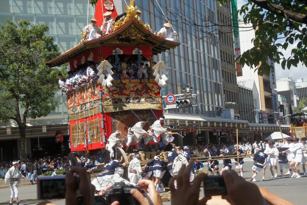 祇園祭 辻回し
