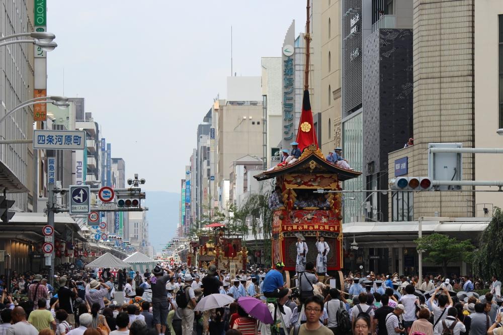 祇园祭 前祭 山鉾巡游