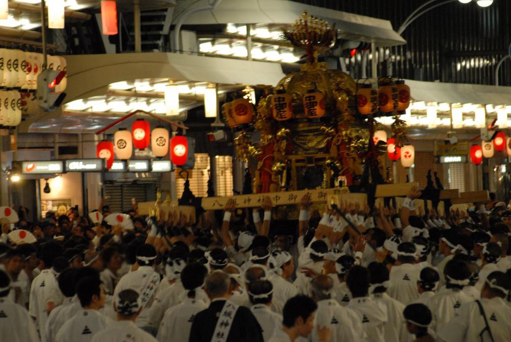 祇园祭 神桥 中御座