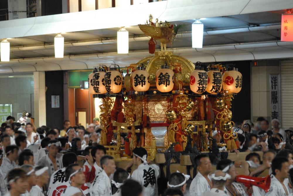 祇園 神輿 西御座