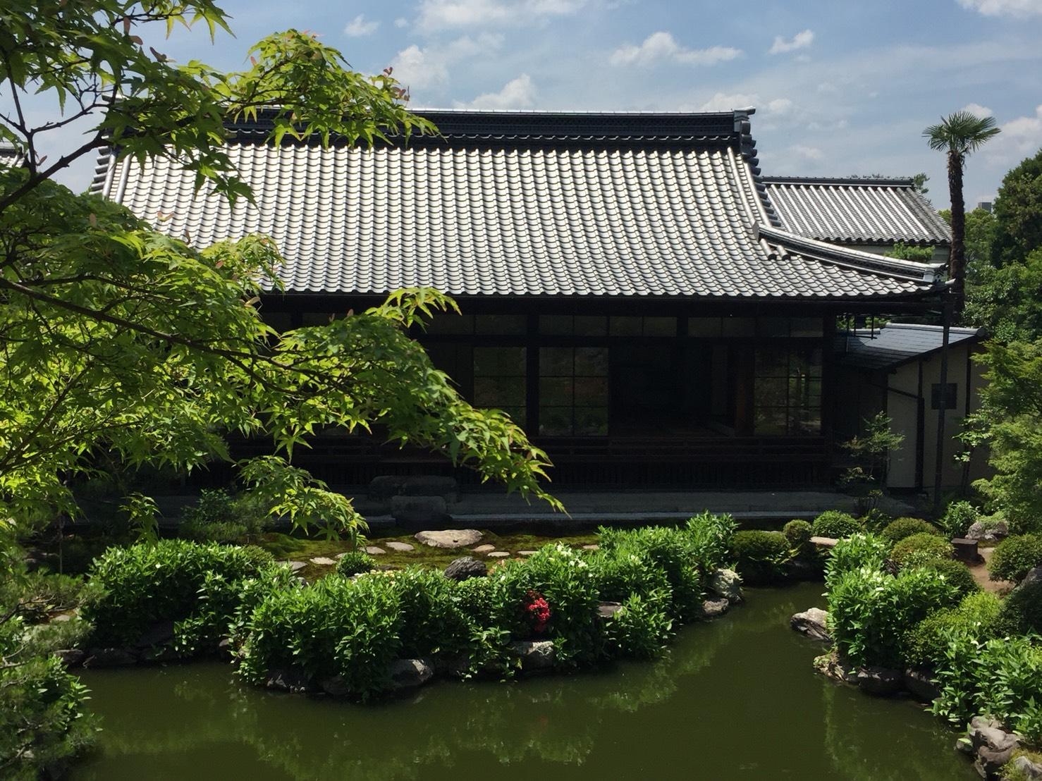 建仁寺両足院庭園