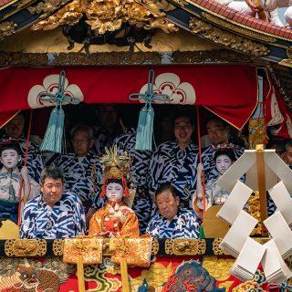 2018年祇園祭前祭山鉾巡行(長刀鉾)